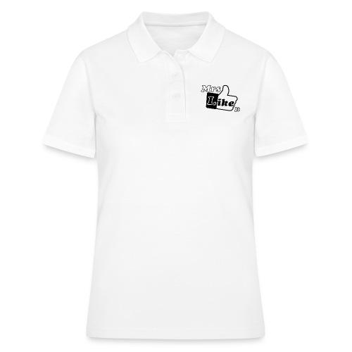 Mrs Like it - shirt (zwart-wit) - Women's Polo Shirt