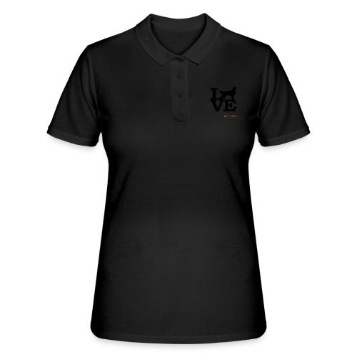 Golden Love - Women's Polo Shirt