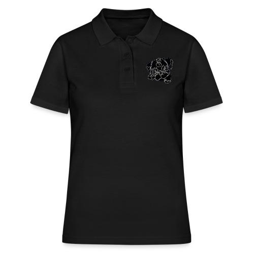 Pug Face - Women's Polo Shirt