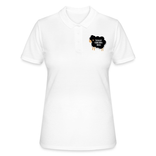 Think of your own idea! - Women's Polo Shirt