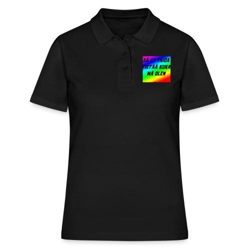 kuka olen - Women's Polo Shirt