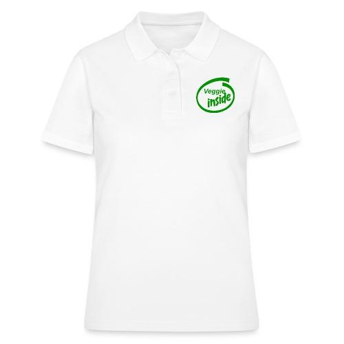 veggie-inside - Frauen Polo Shirt