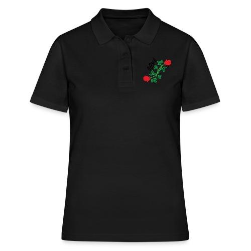 OnEyed Roses - Vrouwen poloshirt