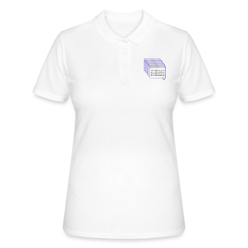 you're a little much for me - Women's Polo Shirt
