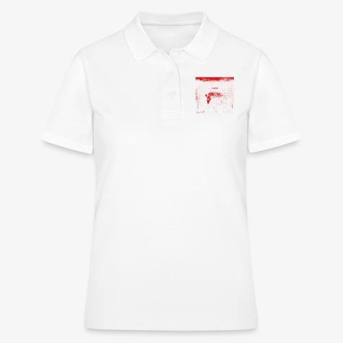 Hyena Red - Women's Polo Shirt