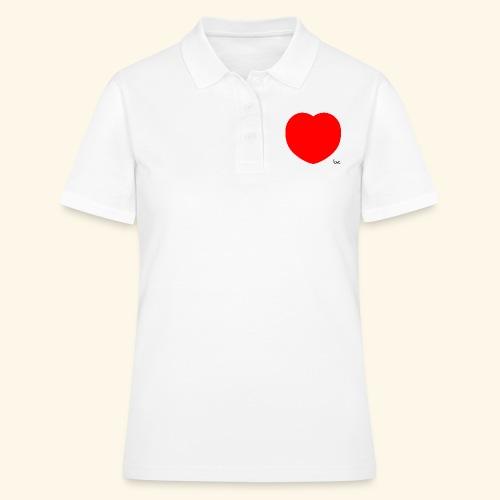 Heart - Frauen Polo Shirt