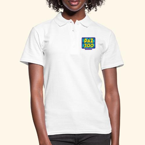 Daz300logo1 - Women's Polo Shirt