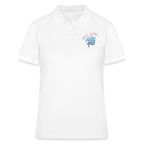 Klima Krake - Frauen Polo Shirt