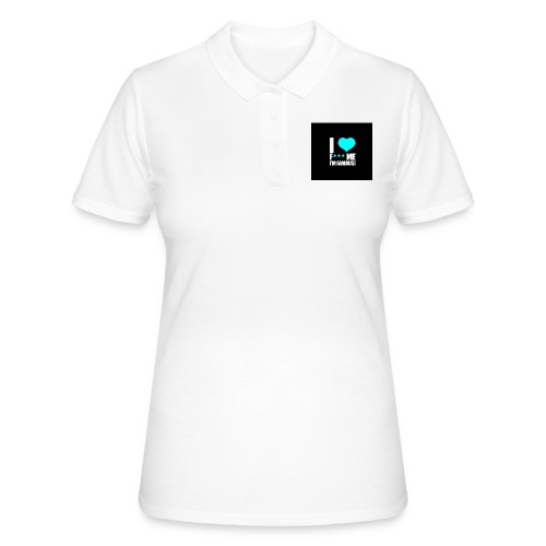 I Love FMIF Badge - Polo Femme