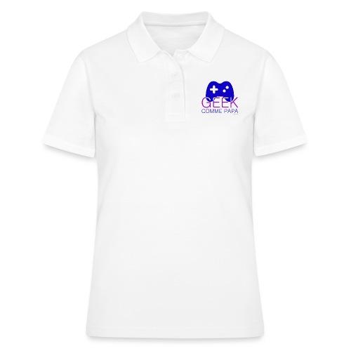 Geek comme Papa - Women's Polo Shirt