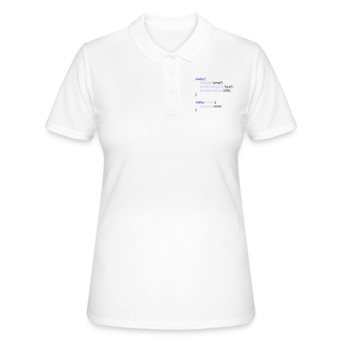 Baby with Style - Camiseta polo mujer