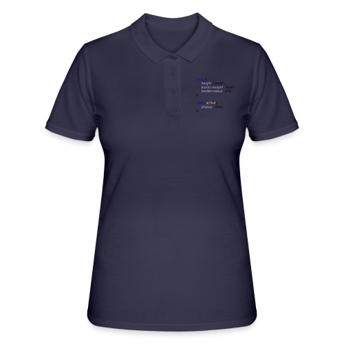 Baby with Style - Women's Polo Shirt