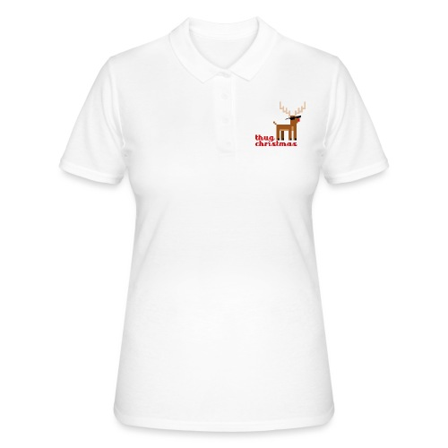 Rudolph the Red Nosed Reindeer Pixel - Women's Polo Shirt