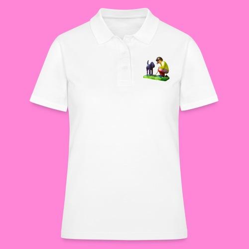 Mannetje Poep vrijstaand - Women's Polo Shirt