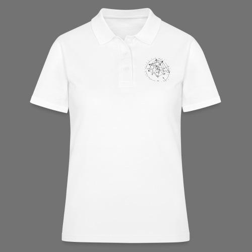 SEO strategia No.1 (musta) - Women's Polo Shirt