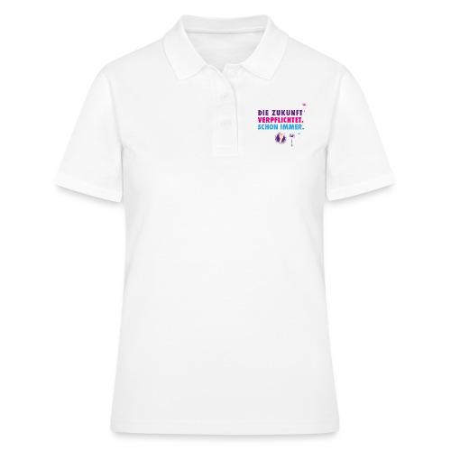 Die Zukunft verpflichtet schon immer - Frauen Polo Shirt