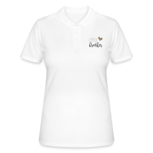 little brother Familyshirt - Frauen Polo Shirt
