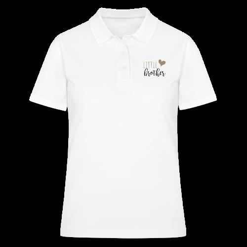 little brother Familyshirt - Frauen Polo Shirt