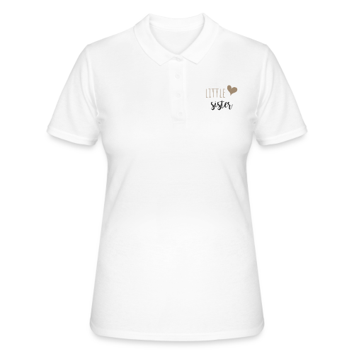 little sister - Frauen Polo Shirt