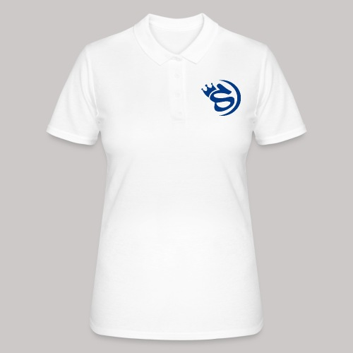 S blau - Frauen Polo Shirt