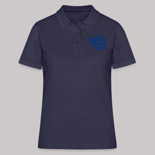 S blau - Frauen Polo Shirt