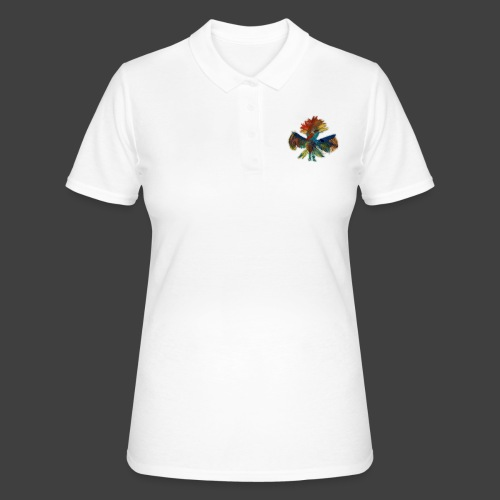 Mayas bird - Women's Polo Shirt
