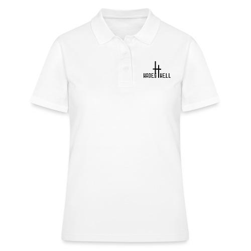 Hadeshell black - Frauen Polo Shirt