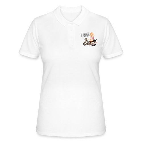 LOGO BREAD AND PUSSY - Women's Polo Shirt
