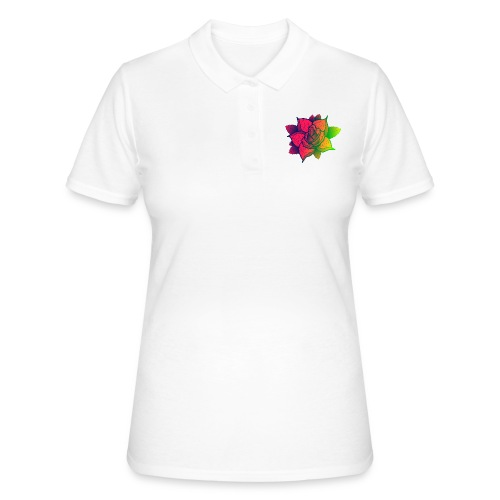 rose tricolore - Women's Polo Shirt
