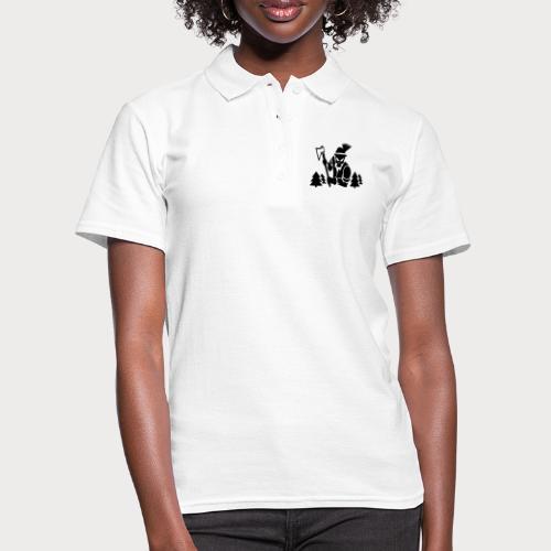 Holzfäller - Frauen Polo Shirt
