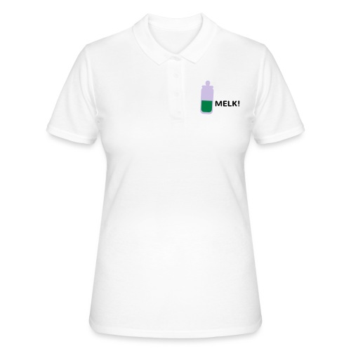 Grappige Rompertjes: Melk - Women's Polo Shirt