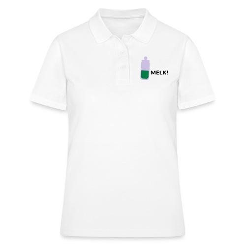 Grappige Rompertjes: Melk - Women's Polo Shirt