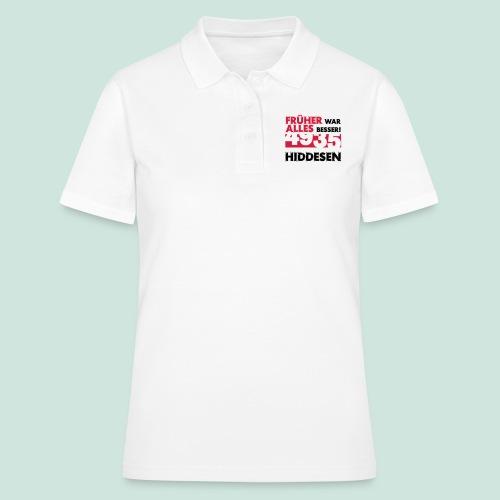 Früher 4935 Hiddesen - Frauen Polo Shirt