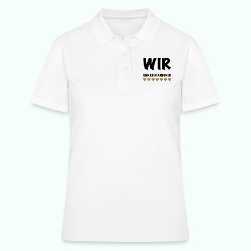 WIR - Frauen Polo Shirt