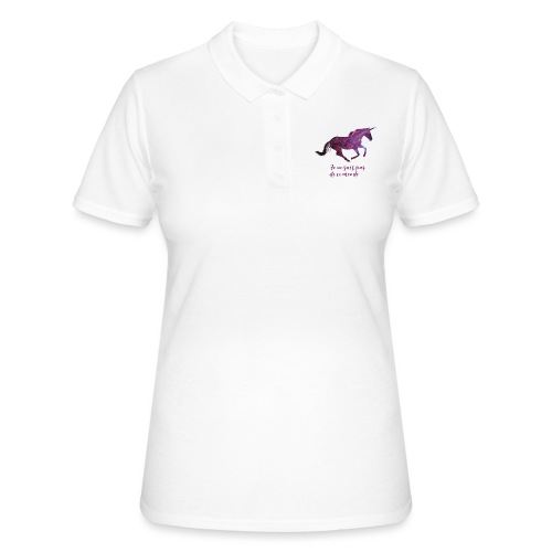 La licorne cosmique - Women's Polo Shirt