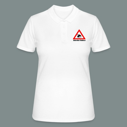 Attention batteur - Women's Polo Shirt