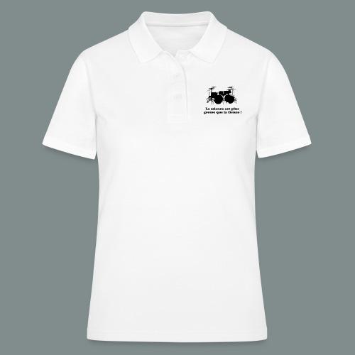 La mienne est plus grosse - Women's Polo Shirt