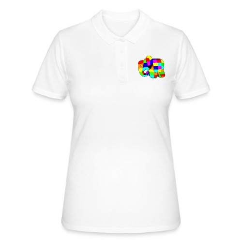 Elephant Arc En Ciel - Women's Polo Shirt