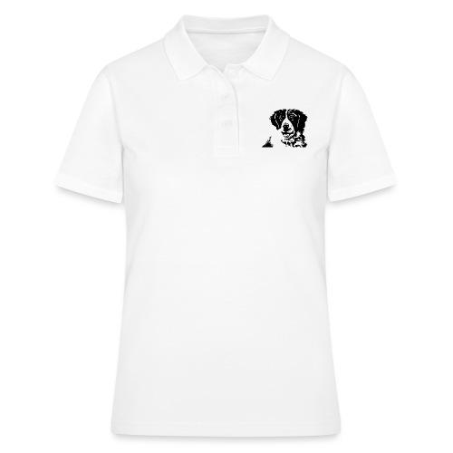 Barry - St-Bernard dog - Frauen Polo Shirt