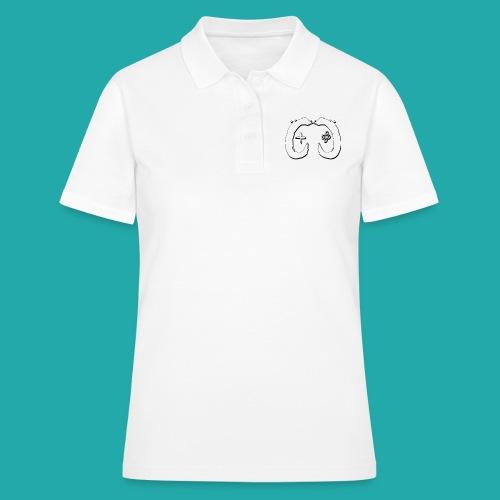 Crowd Control Logo - Women's Polo Shirt