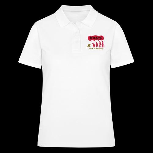 kung hei fat choi monkey - Women's Polo Shirt