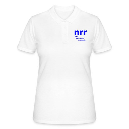 NEARER logo - Women's Polo Shirt