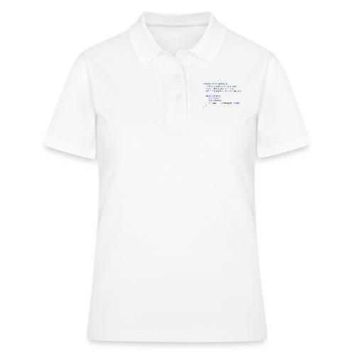 My Life C# - Women's Polo Shirt