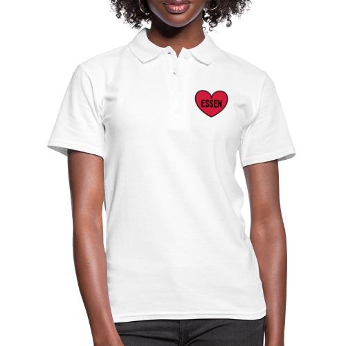 Essen im Herzen - Frauen Polo Shirt