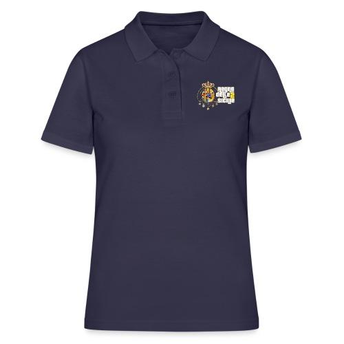 regno delle 2 sicilie testo bianco - Women's Polo Shirt