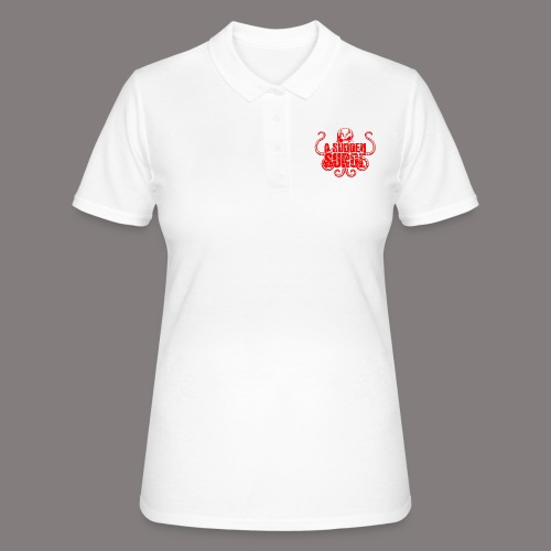ASS_Logo_red_final - Frauen Polo Shirt