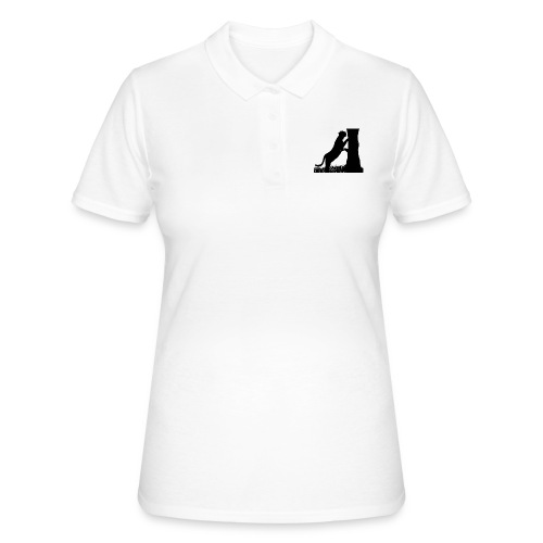 Tiger On A Tree - Women's Polo Shirt