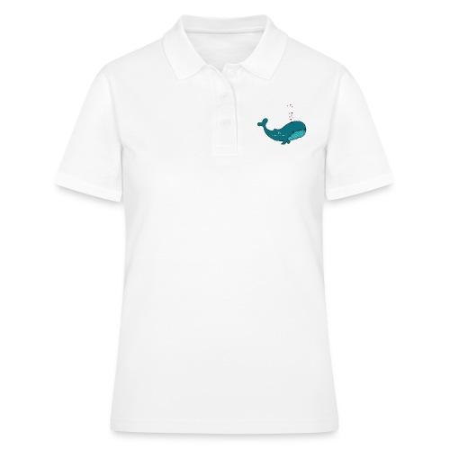 Wal merry Christmas - Frauen Polo Shirt