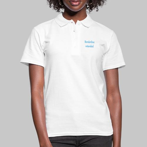 just stating facts - Women's Polo Shirt