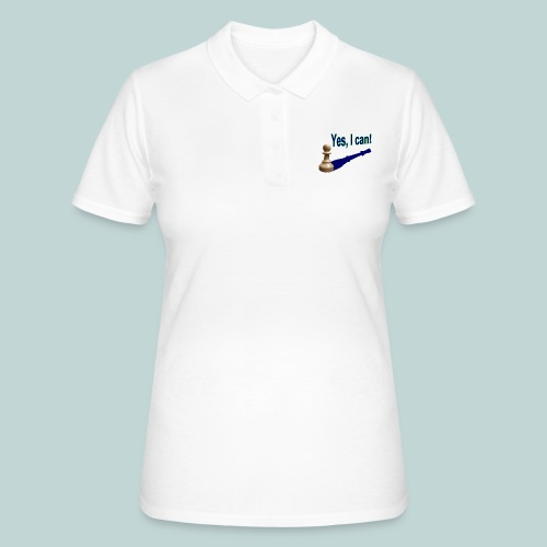 Yes, I can! 1 - Frauen Polo Shirt